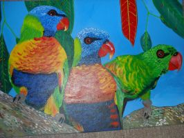 parrots. by Brookiiee-Jayy
