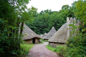 Celtic Huts by Rovanite