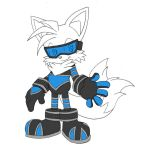 Tails alt. Rivals outfit by LeatherRuffian