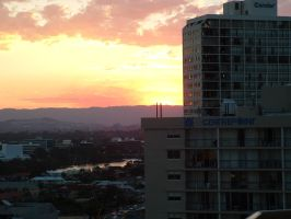 Surfers Paradise Sunset by FrostyHobo