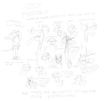 Character concept: Lulo Pichulo by GaussianCat