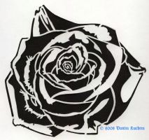 Rose Stencil by empy3