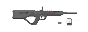 AX-2 Beam Rifle by Artmarcus