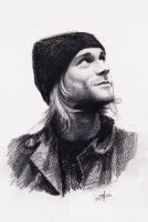 Kurt Cobain by phantosmagoria