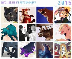 Art Summary 2015 by Gato-Iberico