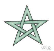 Celtic Green Star by LWaite