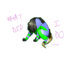 What Did I Do Wrong by Flea-Bites