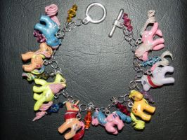 My Little Pony Itty Bitty Ponies Vintage Style Pon by Secretvixen