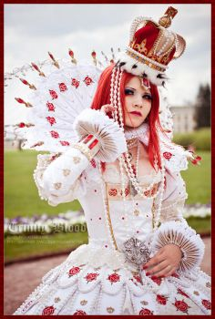 Trinity Blood: Queen was born. by Astarohime