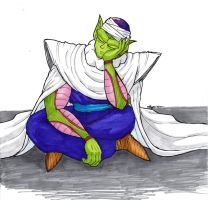 Piccolo Napping (Colour) by shadesoflove