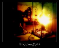 demise of the moth by mildmind2006