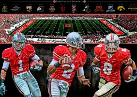 Ohio State Wallpaper by rhurst