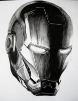 Iron Man WIP 1 by Anthony-Woods