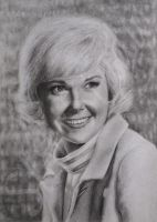 Doris Day Drawing by JamiePickering