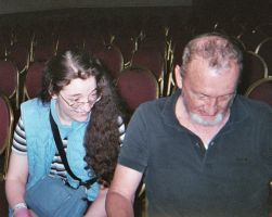 Me and Robert Englund 3 by DreamRevolution