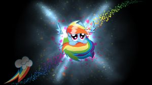 Rainbow Dash Sphere Background 2 by Kuroiraishu