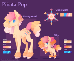 Commission: Pinata Pop by TheNornOnTheGo