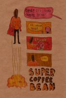 Super Coffee Bean by laresistance
