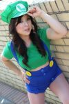 Gender Bent Luigi by lillybearbutt