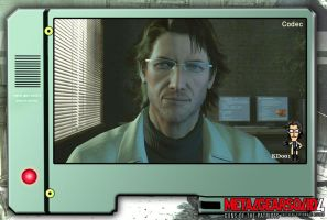 MGS4-Otacon by KD1only