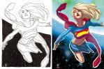 AH's Supergirl colors by TheBob74