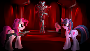 Pony House of The Dead by malamol