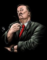 Percy Pringle III (Paul Bearer) by quibly