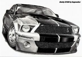 Shelby GT500 by Ragewalker