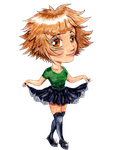 First chibi everrr by SunflowerInTheRain