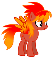 Scarlet Emberfire - Before Going to Ponyville by RainbowDashFatality