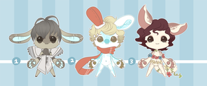 Heart Paw Anthros 4 .:Closed:. by Pieology