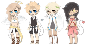 Angels and Demons Adopts *closed* by Peak-Adopts34