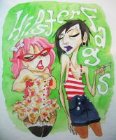 Hipster Fags by gedatsu-kitteh