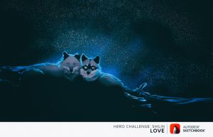 .: Night Love :. by WhiteSpiritWolf