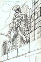 Nightwing Pencils by CliffEngland