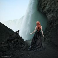 Lady of the Falls by Oer-Wout
