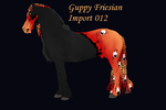 Guppy Friesian Import ID 012 by LiaLithiumTM