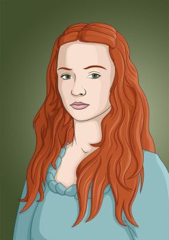 Sansa Stark - Game of Thrones by himaen