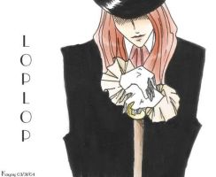 Loplop - Modified Ink Drawing by Paramnesia