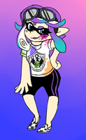 Custom inkling commission 2 by occultic