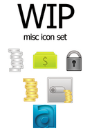 WIP: Misc Icons Set by Coolboyasad12