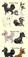 12 Pups to ~Choco-Cress by MichelsAdoptions