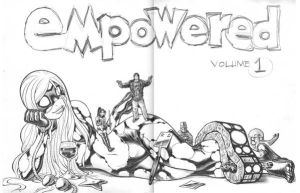 EMPOWERED 1 opening pages by AdamWarren