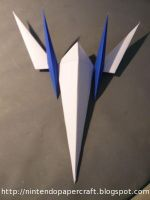 Arwing SNES by Drummyralf
