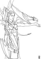 Daenerys Mother of Dragons Targaryen by BrooParker