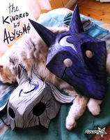 Kindred / The Eternal Haunters / Masks / prop by Abyssmosis