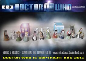Doctor Who - Series 6 Models 2 by mikedaws