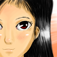 Young Girl - Colour and Shading practice by Crazyb2000