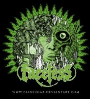 Faceless t shirt design by painsugar