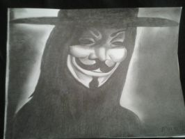 V for Vendetta by Adriast